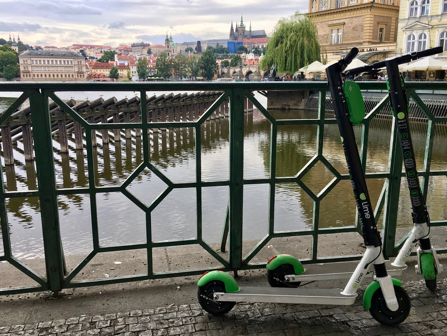 E-Scooter in Prag - Foto: Friederike Aschhoff