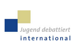 Logo: Jugend debattiert international