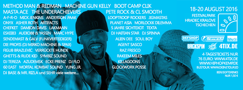 Flyer: Hip Hop Kemp 2016