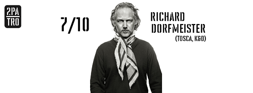 Plakat: Richard Dorfmeister in Prag