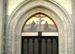 Foto: Thesentür in Wittenberg - Bild: Commons/Wang7