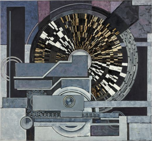 František Kupka, Musik, 1936, Musée national Centre Paris