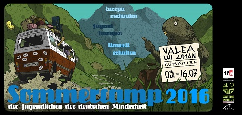 Flyer: Sommercamp 2016